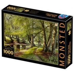 Puzzle 1000 pièces - Monsted Jour d'été dans la forêt