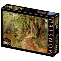Puzzle 1000 pièces - Monsted Jour de Printemps dans les bois