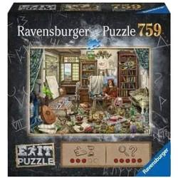 Escape Puzzle 759 pièces - Atelier d'artiste