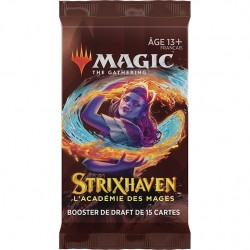Magic - Booster de draft - Strixhaven - L'académie des Mages