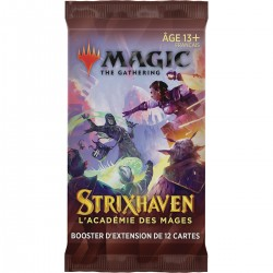 Magic - Booster d'Extension 12 cartes - Strixhaven - L'académie des Mages