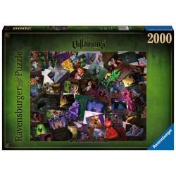Puzzle 2000 pièces - Villainous Méchants Disney.