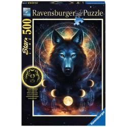 Puzzle 500 pièces - Starline - Loup Lumineux