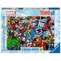 Puzzle 1000 pièces - Marvel Challenge