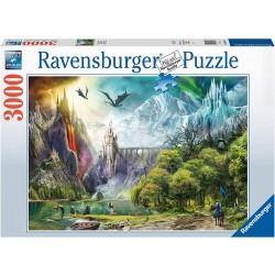Puzzle 3000 pièces - Le Règne des Dragons