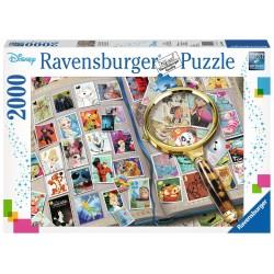 Puzzle 2000 pièces - Mes Timbres Disney Préférés