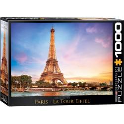 Puzzle 1000 pièces - City Collection - Paris La Tour Eiffel
