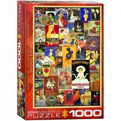 Puzzle 1000 pièces - Vintage Posters