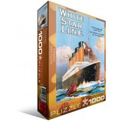Puzzle 1000 - Titanic White Star Line