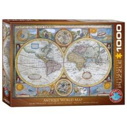 Puzzle 1000 pièces - Carte du Monde Antique