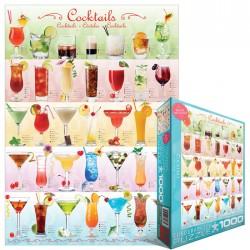 Puzzle 1000 pièces - Cocktails