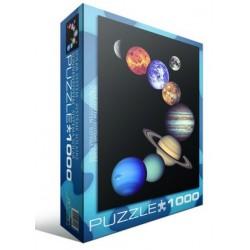 Puzzle 1000 pièces - NASA - Le Système Solaire