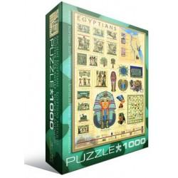 Puzzle 1000 pièces - Egyptiens Antiques