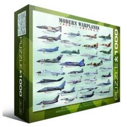 Puzzle 1000 pièces - Avions Militaires Modernes