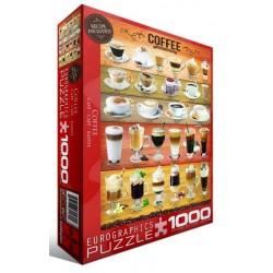 Puzzle 1000 pièces - Café