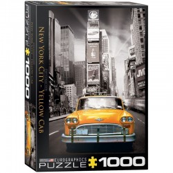 Puzzle 1000 pièces - City Collection - New York Yellow Cab