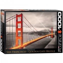 Puzzle 1000 pièces - City Collection - San Francisco Golden Gate Bridge