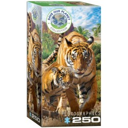 Puzzle 250 pièces - Save our Planet Collection - Tigres