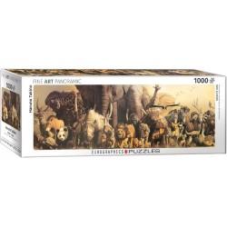 Puzzle 1000 pièces - Panorama Arche de Noé