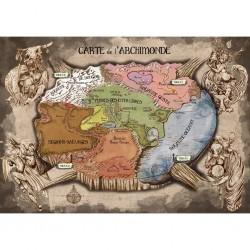 Les Apprentis Sorciers - Carte du Monde