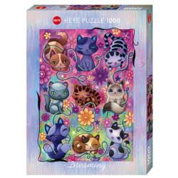 Puzzle 1000 pièces - Kitty Cats