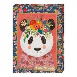 Puzzle 1000 pièces - Cuddly Panda