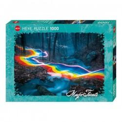 Puzzle 1000 pièces - Rainbow Road