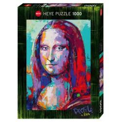 Puzzle 1000 pièces - Mona Lisa