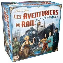 Les aventuriers du rail - Autour du monde un jeu Days of wonder
