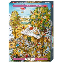 Puzzle 1000 pièces - In Summer
