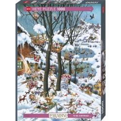 Puzzle 1000 pièces - In winter