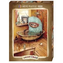 Puzzle 1000 pièces - Bathtub Baignoire Zozoville