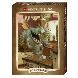 Puzzle 1000 pièces - Zozoville Laundry Day