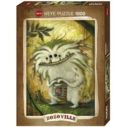 Puzzle 1000 pièces - Veggie Zozoville