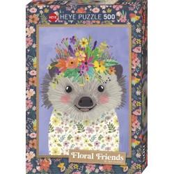 Puzzle 500 pièces - Funny Hedgehog