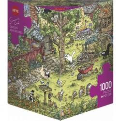 Puzzle 1000 pièces - Garden Adventures