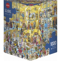 Puzzle 1000 pièces - Hotel Life