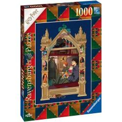 Puzzle 1000 pièces - Harry Potter En route vers Poudlard