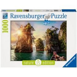 Puzzle 1000 pièces - Lac de Cheow Lan