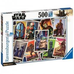 Puzzle 500 pièces - Star Wars Mandalorian