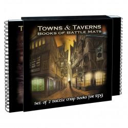 Books of Battle Mats - Towns & Taverns
