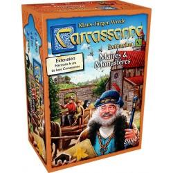 Carcassonne 5 : Maire et Monastères un jeu Z-Man Games