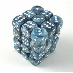 Pack de 36 dés 6 * lustrous * ARDOISE / SLATE un jeu Chessex