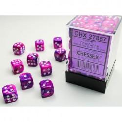 Pack de 36 dés 6 * festive * VIOLET un jeu Chessex