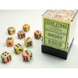 Pack de 36 dés 6 * festive * CIRCUS un jeu Chessex