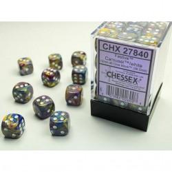 Pack de 36 dés 6 * festive * CARROUSEL un jeu Chessex