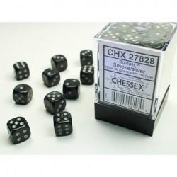 Pack 36 dés 6 Fumé Chessex