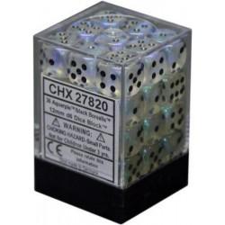 Pack 36 dés 6 aquerple chessex