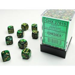 Pack 36 dés 6 Jade Chessex Jeu de Rôle