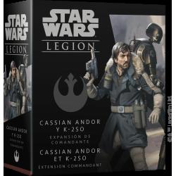 Cassian Andor et K-2SO pour le jeu star wars légion